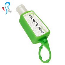 Keychain Gel Hand Sanitizer Holder with Silicone